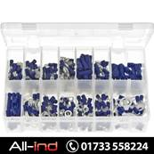 *AB161 TERMINALS INSULATED BLUE