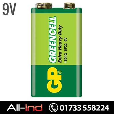 *BAT4 GP BATTERIES EX/HVY DUTY 9V (1604G/PP3S) [QTY=10]