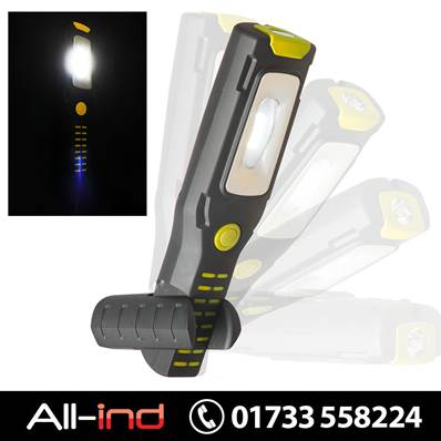 *EHL300Y VISION FLEXIBLE MAGNETIC HAND LAMP/TORCH YELLOW