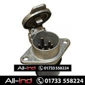 7 PIN METAL SOCKET