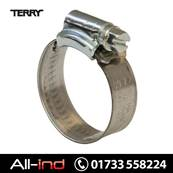*HC000 TERRY HOSE CLIPS 9.5 12MM [QTY=20]