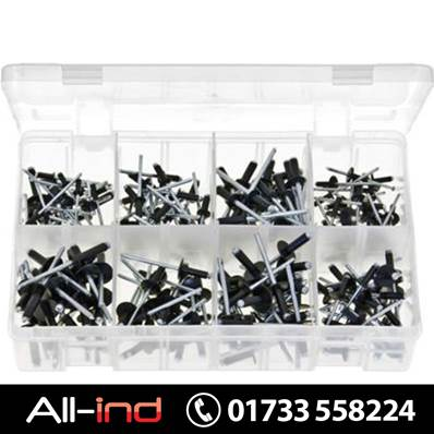 *AB112 RIVETS ALUMINIUM BLACK