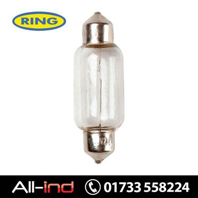 *ERB239 RING FESTOON S8.5D 11X38MM 12V 5W [QTY=10]