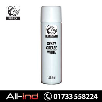 *SAS7 [6] RHINO SPRAY GREASE WHITE 500ML