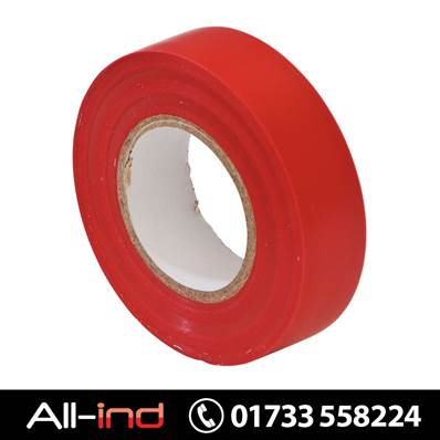 *EPT14 PVC INSULATION TAPE 19MM RED 20M [QTY=10]