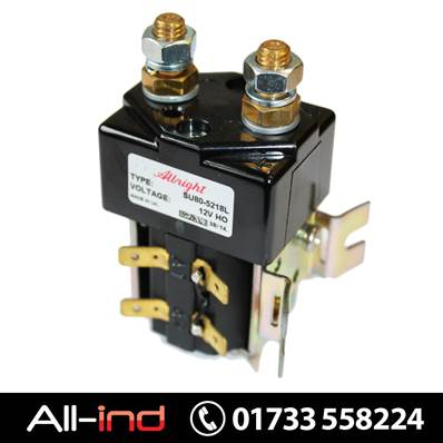 ALBRIGHT SOLENOID SWITCH - SU80-5218L - 12V DC 200AMP
