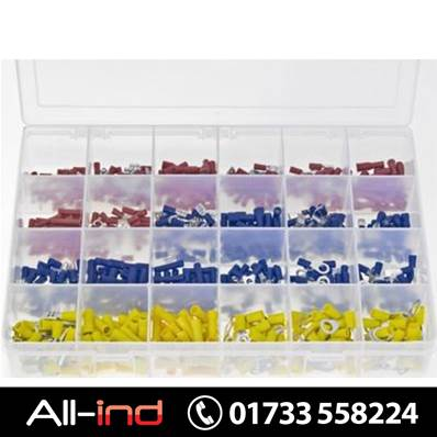 *AB509 TERMINALS INSULATED RED BLUE & YELLOW