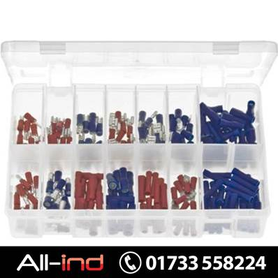 *AB110 TERMINALS INSULATED RED & BLUE