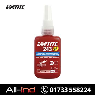 *VC901 LOCTITE 243 THREADLOCKER 50ML BOTTLE
