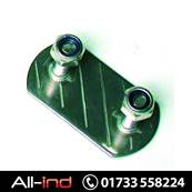 BACKPLATE STAINLESS STEEL 20MM STUDS
