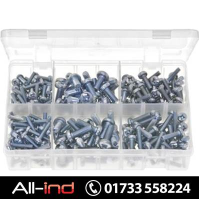 *AB134 MACHINE (BODY) SCREWS PAN POZI METRIC