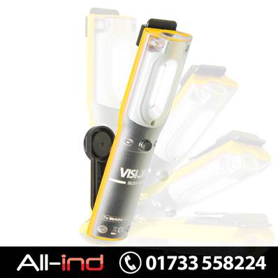 VISION COMPACT HAND LAMP + UV TORCH YELLOW
