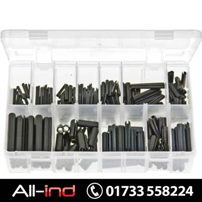 *AB80 SPRING ROLL PINS BLACK METRIC