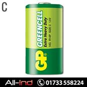 *BAT2 GP BATTERIES EX/HVY DUTY 1.5V C (14G) [QTY=10]