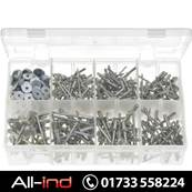 *AB48 RIVETS MULTI GRIP ALUMINIUM & WASHERS