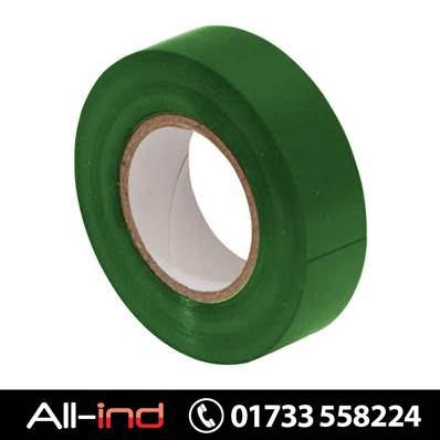 [10] PVC INSULATION TAPE 19MM GREEN 20M
