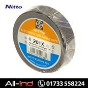 NITTO 201X TAPE 19 X 0.18MM BLACK 20M [QTY=10]