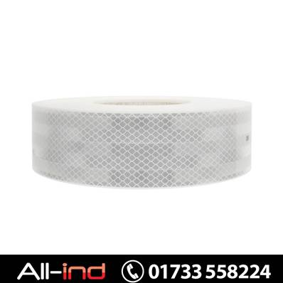 ECE104 CONSPICUITY TAPE WHI 200M