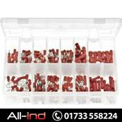 *AB160 TERMINALS INSULATED RED