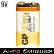 *BAT9 GP BATTERIES ALKALINE 9V (1604A/PP3) [QTY=10]