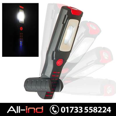 VISION FLEXIBLE MAGNETIC HAND LAMP/TORCH RED