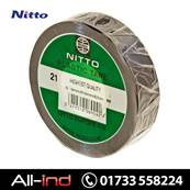 NITTO NO. 21 TAPE 19 X 0.19MM BLACK 20M [QTY=10]