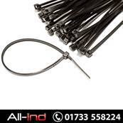 [100] CABLE TIE - 370MM X 7.6MM BLACK
