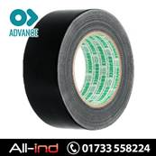 *TAPE5B ADVANCE DUCT GAFFER TAPE BLACK 50MM X 50M [QTY=24]