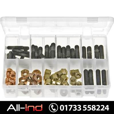 *AB116 EXHAUST MANIFOLD STUDS & NUTS METRIC