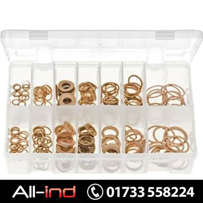 DIESEL INJECTOR WASHERS COPPER