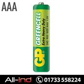 *BAT30 GP BATTERIES EX/HVY DUTY 1.5V AAA (24G) [QTY=10]