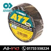 ADVANCE AT7 INS TAPE 19MM BLACK 20M [QTY=10]